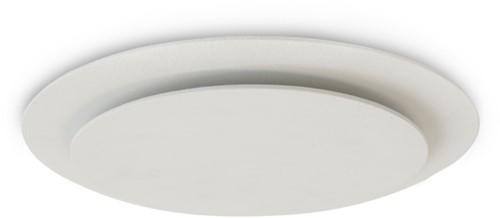 Vasco plafond- of wandventiel design luxe rond (incl. smiley)