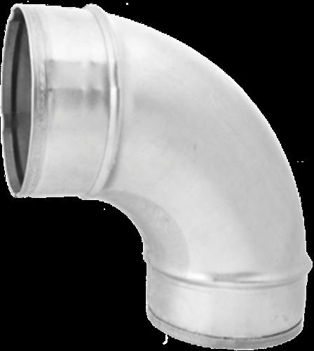 Bocht diameter 80 mm 90 graden (niet safe)