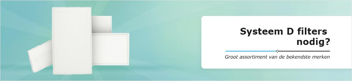 Systeem D filters van alle bekende merken online bestellen