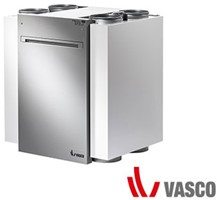 Vasco WTW unit / ventilatiesysteem D