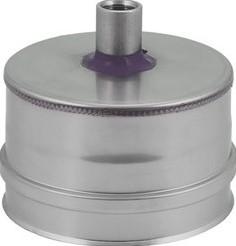 DW diameter 130 (130/180) condensdop (I316L/I304)