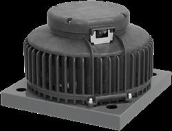 Ruck dakventilator kunststof horizontaal met werkschakelaar en EC-motor (DHA ECP-serie)