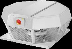 Ruck dakventilator horizontaal met werkschakelaar en EC-motor (DHA ECP-serie)