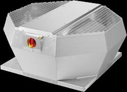 Ruck dakventilator verticaal met werkschakelaar en EC-motor (DVA EC P-serie)