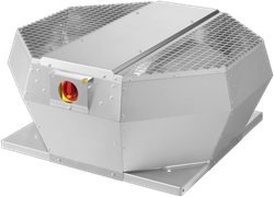 Ruck dakventilator verticaal met werkschakelaar (DVA P-serie)