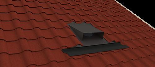 Horizontale dakdoorvoer 2