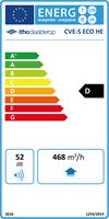 Energielabel Itho Daalderop CVE S ECO HE