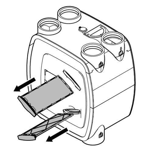 Filter Itho Daalderop vervangen