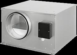 Ruck boxventilator geïsoleerd met energiezuinige EC-motor (ISOR EC-serie)