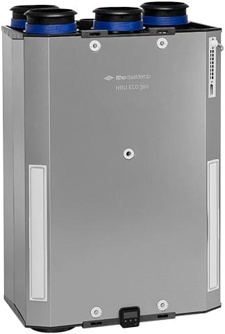 Itho Daalderop WTW unit HRU ECO 300 R – Euro Stekker