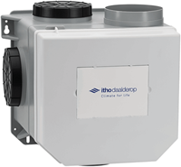 Itho Daalderop CVE-S eco fan ventilator box high performance RFT HE 415m3/h + vochtsensor - euro stekker 03-00402