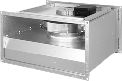 Ruck kanaalventilator ongeïsoleerde met EC-motor (KVR EC-serie)