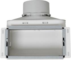 Uniflexplus wandcollector bovenaansluiting 1x Ø 90 mm (VMCB 90)