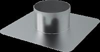 Plakplaat voor WTW Thermoduct dakdoorvoer 125mm-1