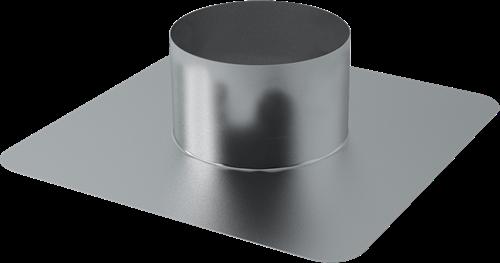 Plakplaat voor WTW Thermoduct dakdoorvoer 400mm