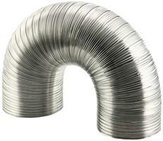 Aluminium semi-flexibele (starre) ventilatieslang