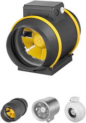 Buisventilator en Kanaalventilator centrifugaal