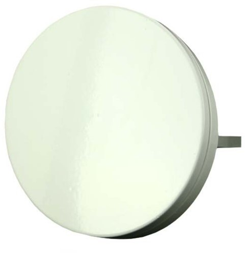 Ventilatie toevoer rooster metaal Ø100mm design - TFF100