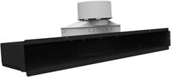 Uniflexplus lijncollector voor plafond of muuraansluiting 1x Ø90 mm