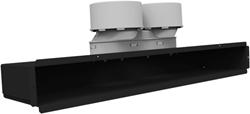 Uniflexplus lijncollector voor plafond of muuraansluiting 2x Ø90 mm