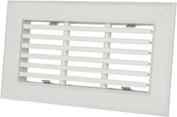 Uniflexplus rooster met vaste lamellen 200 x 100 voor wandcollector (VANOL 200 100)