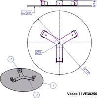 Vasco tekening ventiel 11VE30250 - 19151202