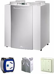 Ventilatiesysteem D - warmterecuperatie
