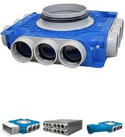 Uniflexplus 63mm verdeelboxen