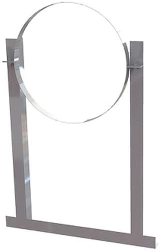 Aluminium dakbeugel voor spiraalbuis diameter 355mm