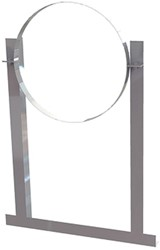 Aluminium dakbeugel voor spiraalbuis diameter 280mm