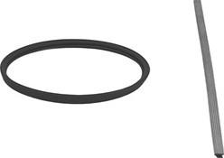 Afdichtingsrubber diameter  300 mm VITON