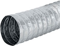 Aludec 102 mm ongeisoleerd flexibele slang (10 meter)