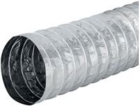 Aludec 127 mm ongeisoleerd flexibele slang (1 meter)