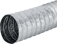 Aludec 102 mm ongeisoleerd flexibele slang (1 meter)