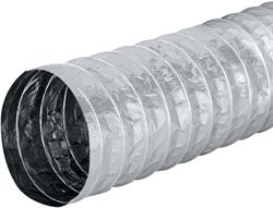 Aludec 182 mm ongeisoleerd flexibele slang (1 meter)