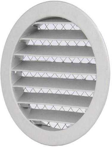 Aluminium buitenlucht muur rooster Ø 80mm - DSAV080