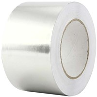 Aluminium tape 75mm (rol 50 m)
