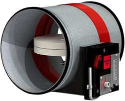 Ronde brandklep 630 mm handbediend CR2+CFTH