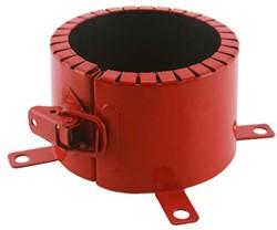 Brandmanchet voor buis 80 mm opbouw 4u astroflame