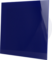 Badkamerventilator blauw