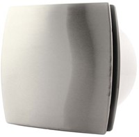 Badkamerventilator of toiletventilator diameter: 100 mm RVS Design met TIMER T100Ti-1