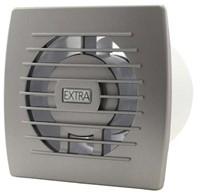 Badkamerventilator of toiletventilator diameter: 100 mm ZILVER basis E100S-1