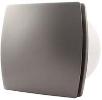 Badkamerventilator of toiletventilator diameter: 100 mm ZILVER Design T100S-1