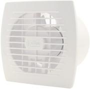 Badkamerventilator of toiletventilator diameter: 120 mm WIT met TIMER E120T