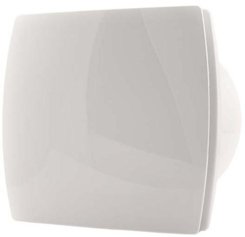 Badkamerventilator of toiletventilator diameter: 150 mm WIT Design met Timer T150T