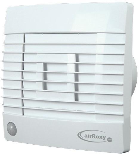 Badkamer ventilator met Automatische Sluitklep, Bewegingssensor en ...