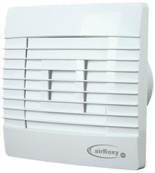 Badkamer ventilator met Automatische Sluitklep en Timer 150 mm wit - Prestige 150ZGTS