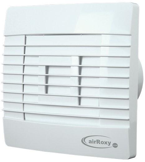 Badkamer ventilator met Automatische Sluitklep Vochtsensor en Timer ...