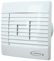 Badkamer ventilator met Automatische Sluitklep Vochtsensor en Timer 150 mm wit - Prestige 150ZGHS-1