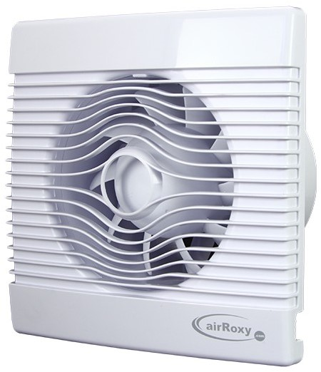 Badkamer ventilator met Vochtsensor en Timer 100 mm wit ...